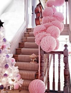Pink Christmas! Sorry hub's but gotta do this for the girls one year.
