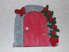 Fairy Door hobbit door fairy house fairy by magikallittlethings