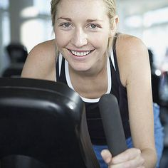 Fight Belly Fat With a Bike: Interval Workout: While it's often overlooked at the gym, the exercise bike can help you burn tons of calories and tone your legs.