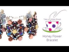 Honey Flower Bracelet | Take a Make Break | Beads Direct