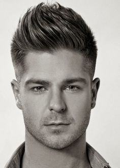 The Wavy Squre Quiff Hairstyle ht1 Wavy Quiff Hairstyles For Men 2014