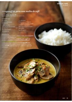Revista Bimby - Abril 2015 Meat Recipes, Gluten Free Recipes, Healthy Recipes, Portuguese Recipes, What To Cook, Food Inspiration, Healthy Life, Dairy Free, Curry