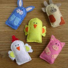 More finger puppets!  Eu adorava isso quando criança... :)