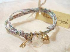 amour liberty print friendship bracelet by daniela sigurd jewellery | notonthehighstreet.com