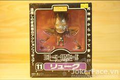 Nendoroid Ryuk - Death Note. Joker Face Shop Shop manga-anime hà nội chuyên mô hình one piece, mô hình naruto, mô hình date a live, phụ kiện tokyo ghoul, mô hình fairy tail, mô hình bleach, mô hình miku, nendoroid, figure chibi, phụ kiện manga-anime Link website: jokerface.vn/