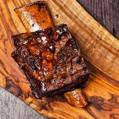 Smoked & slow cooked beef shortrib