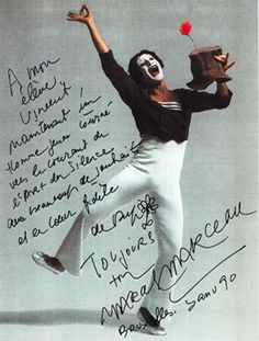 marcel marceau moonwalk - Google Search Samuel Beckett, Pierrot Costume, Bennett Cerf, August Strindberg, George Burns, Send In The Clowns, Tove Jansson, Magic Realism, Marcel