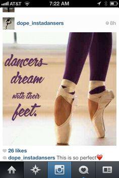 Ballet...so true!