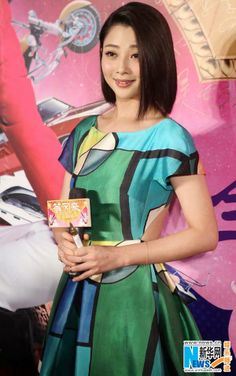 """Actress Ying Tao attends the premier of """"Up in the Wind"""" in Beijing December 26, 2013"""