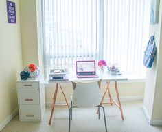 Decided to share a #homeoffice #homedecor update on the blog. #workfromhome #atmydesk #officedecor