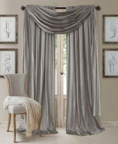 How To Drape Window Scarves 5 Easy Steps With Pictures