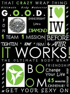 """Join the Party with """"It works global""""Facebook msg me, text or call me today! Britney Mcclincy 740-616-3017 mcclincy101@gmail.com britneymcclincy.myitworks.com"""
