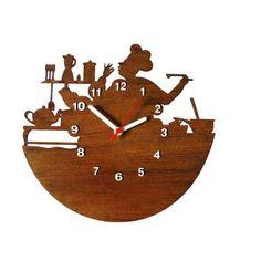Relógio de Parede Decorativo - Modelo Mestre Cuca