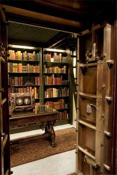 Book vault.