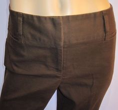 "Dana Buchman Signature Size 10 ~32"" W X 30"" Inseam Soft Brown Comfortable Pants #DanaBuchmanSignature #CasualPants"