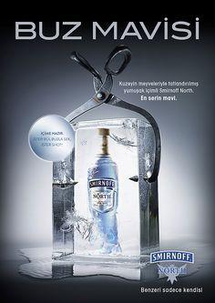 Magazine Ads for a Vodka Brand on Behance