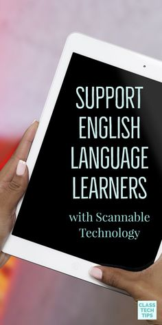 Scannable technology provides opportunities for students to quickly and easily interact with a variety of content. In a differentiated classroom, children should have access to resources and support materials that will push them toward success. Free Teaching Resources, Teaching Tips, Play Based Learning, Student Learning, Differentiation In The Classroom, Ell Students, English Language Learners, Teacher Hacks, Educational Technology