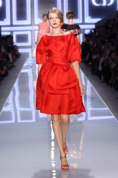 Dior - Silk gazar dress