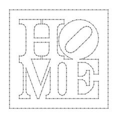 String Art Letters, String Wall Art, Nail String Art, String Art Templates, String Art Tutorials, Stencil Templates, Stencil Art, Stencils, Punch Needle Patterns