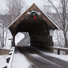 Meriden Covered Bridge | The Meriden Covered Bridge, named f… | Flickr