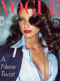 Michelle Alves for Vogue Italia, May 2002. Photo Steven Meisel