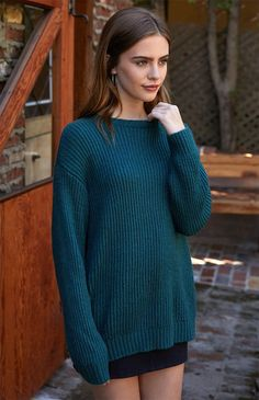 Easy Tunic Pullover Sweater