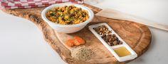Quinoa met wortelen, rozijnen en pijnboompitten Vegetarian, Food, Meal, Hoods, Eten, Meals