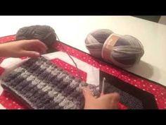 Tığişi fıstıklı boyunluk yapımı - YouTube
