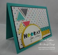 Stampin' Up! Geometrical side view stamp camp