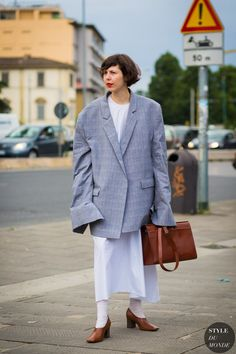 Florence Men's SS 2017 Street Style: Anais Lafarge
