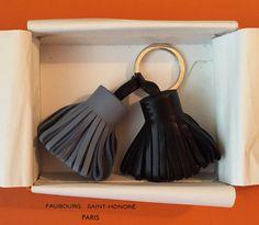 Hermès Carmen Duo Bleu Lin/Noir