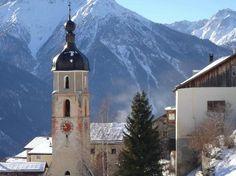Switzerland: Tschlin in winter