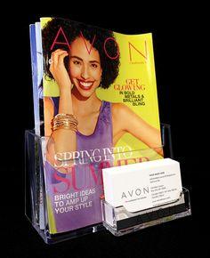 Avon Brochure & Business Card Holder AVVN4292.jpg (600×739)