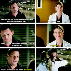 Meredith and Alex 11x01