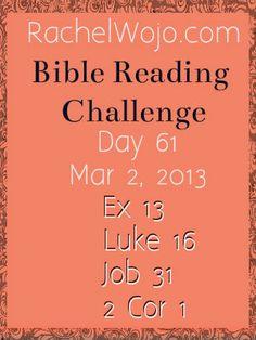 Bible Reading Challenge Day 61 #bibleinayear