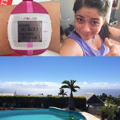 Training with a view is priceless  just finished #bbgweek14 Sunday's #fullbody workout  I did circuit 1 four times and circuit 2 twice for 24 minutes and ended with 12 minutes of full body stretching  I feel amazing and definitely challenged. Thank you @kayla_itsines ! #postworkoutselfie #stretch #stretching #palmtrees #caloriecounting #caloriecounter #calorietracker #bbg #bbg2 #bbggirls #bbgcommunity #bbgprogress #kaylaitsines #reebok #polarft4 #view #reunionisland #lareunion #lareunionlela…