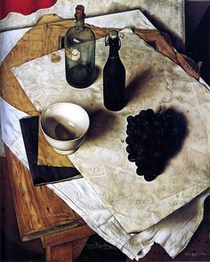 Dick Ket: Still-life with grapes, 1934