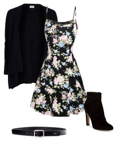 """""""Outfit #11"""" by abby020 on Polyvore featuring Allude, Lauren Ralph Lauren and Gianvito Rossi"""