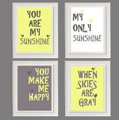 Nursery Art Print  Nursery Wall Art  Nursery Quote  by RolyPolyArt, $30.00