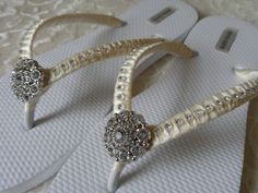 Lace wedding shoeswedding shoes pearlbling flat by