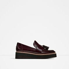 ZARA - COLLECTION SS/17 - FLATFORM LOAFERS