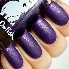 """A new favorite jelly/flakie combination from @harepolish  This is """"The wanderer"""", 2 coats plus matte topcoat. Available for purchase from @harepolish shop."""