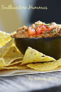Hummus with a Southwestern Twist by Namely Marly