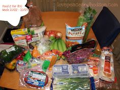 Love, Peace and Hodson: Feed 2 For $50 a Week: 10/22/2012 (Frugal Meal Planning)