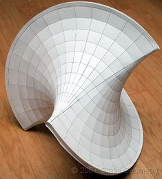 Oloids and other strange Abstract Sculpture, Sculpture Art, Casa Bunker, Parametric Design, Math Art, Geometry Art, Shape And Form, Art And Architecture, Origami Architecture