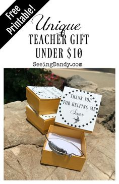 Four noteworthy appreciation gifts this teacher gift idea is unique and a great way to say thank you any negle Images