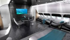 VIP Completions Installs a Bubble Wall in the Cabin of a Private Boeing Dreamliner Jet | Aviation | Robb Report - The Global Luxury Source