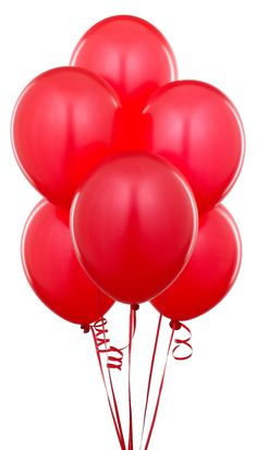 Red Budget Party Balloons (Pack of 25)