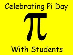 Pi day is coming up on March 14th!  Here is a FREE lesson and some ideas about celebrating this special day with your students.