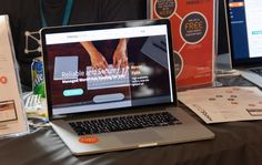 Our Website at the Pressidium booth at Word Camp EU 2014